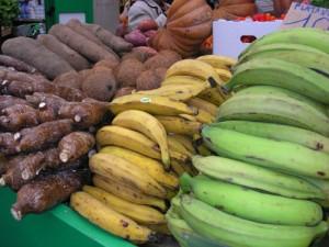 Immagine di platani e manioca