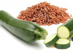 risorosso e zucchine