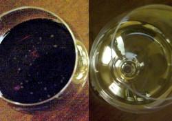 due bicchieri colorati