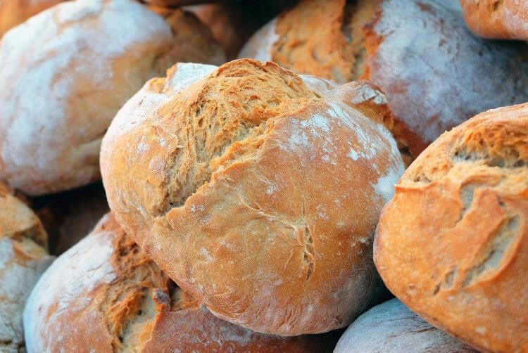 Immagine di pane industriale