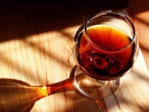 Immagine di un bicchiere di Porto