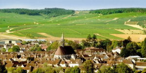 Immagine di Chablis, paese e panorama