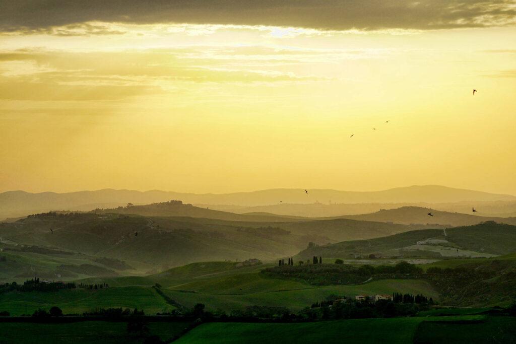 Immagine di paesaggio Toscano