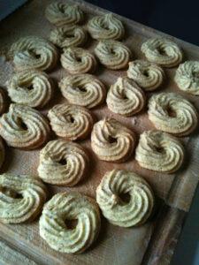 Immagine di biscotti appena sfornati
