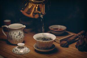 Immagine di tè orientale