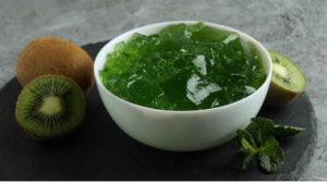 Immagine di gelatina di kiwi