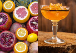 immagine frutta e gelatina