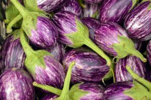 Immagine di melanzane viola