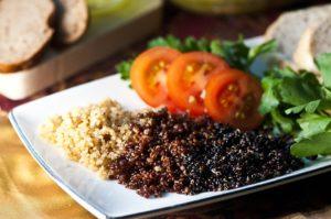 Immagine piatto di quinoa