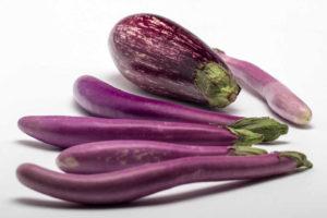 Immagine melanzane violette